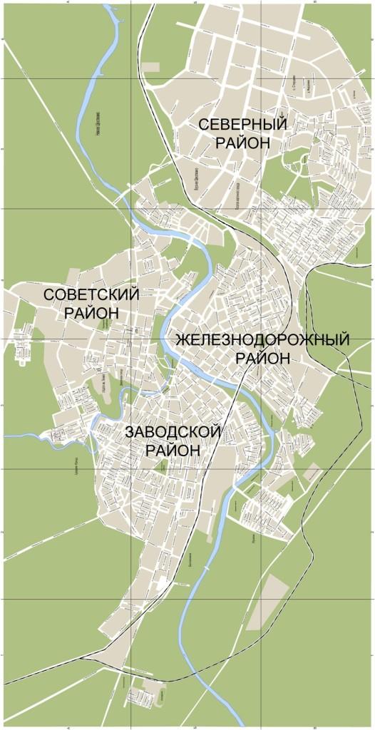 Карта Орла