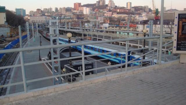 Вокзал во Владивостоке