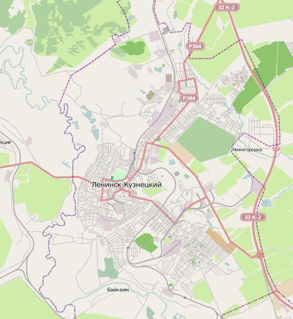 Карта Кемеровской области подробная со спутника  Карта