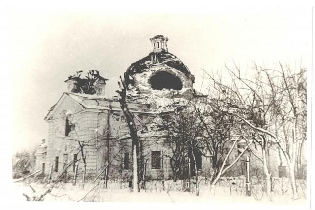 Свято-Троицкая церковь после освобождения оккупированной территории