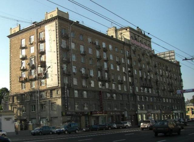 Элитная сталинка на Ленинском проспекте