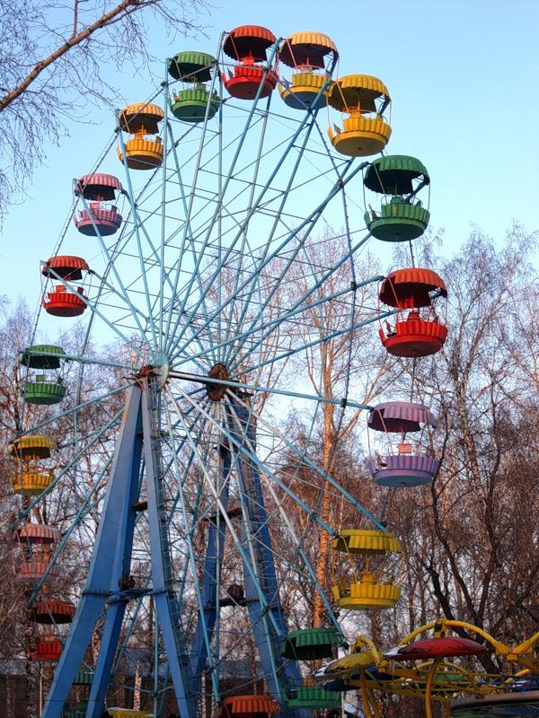Ленинск. Парк Горького