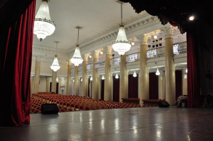 Концертный зал у Финляндского вокзала.