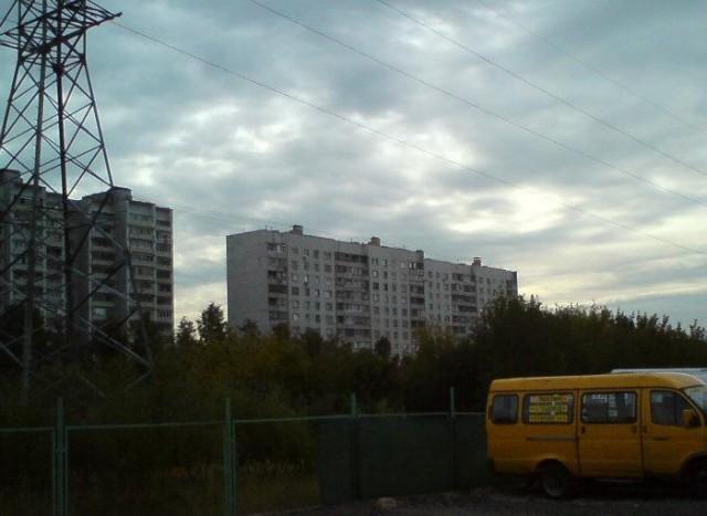 Царицынский пейзаж в районе ул. Бехтерева