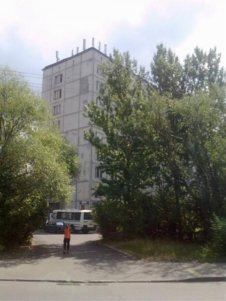 Многоэтажная панель Головинского района