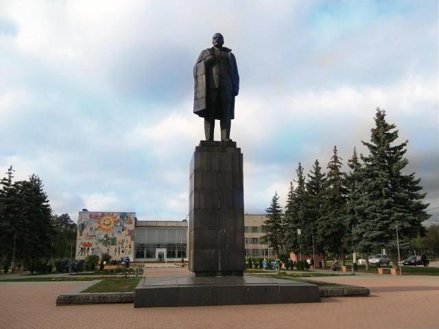 Дзержинск. Памятник Ленину В.И.