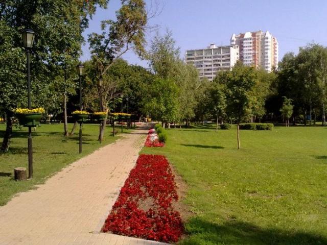 Парк им. Святослава Федорова в Бескудниково