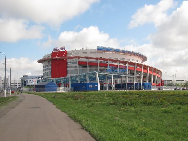Дворец спорта «Мегаспорт» на Ходынке