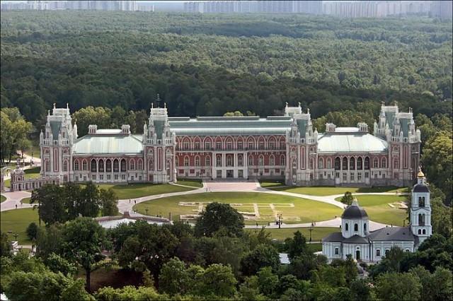 Дворцово-парковый комплекс «Царицыно»