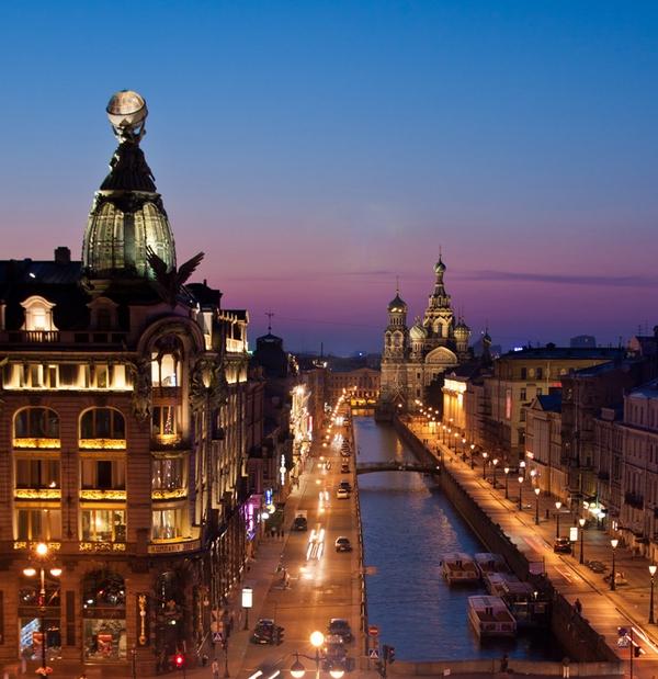 Фотографии города ночного