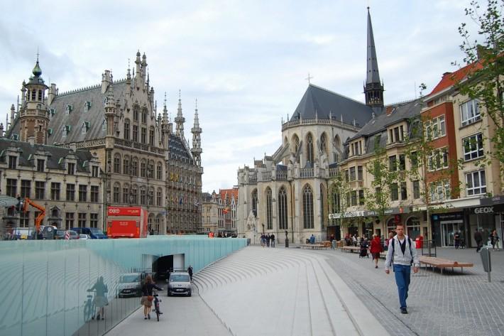 Лёвен (Лувен) — один из университетских центров Бельгии