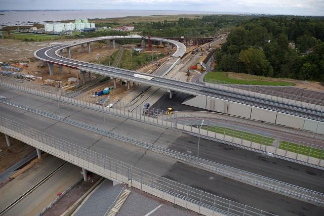 Пересечение КАД и Краснофлотского шоссе