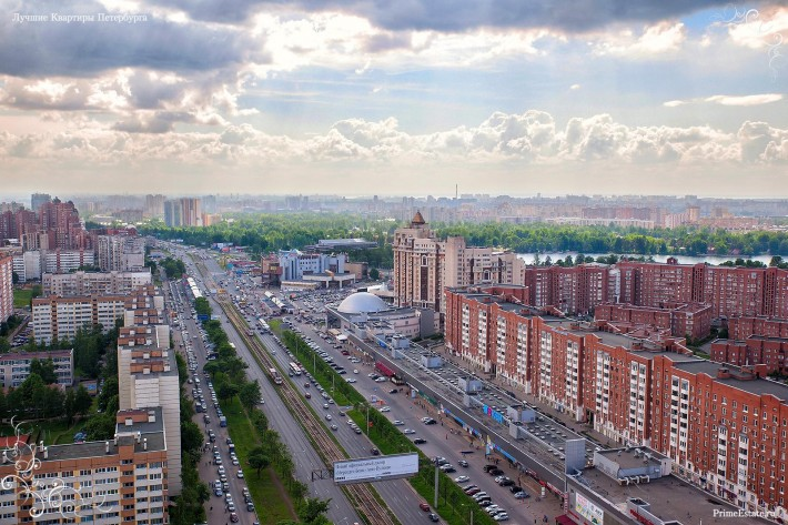 Новостройки Выборгского района