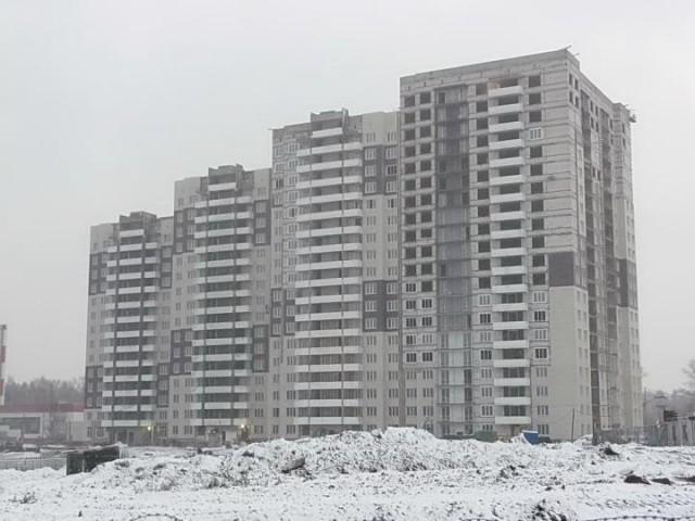 Строительство ЖК Одинцовский парк
