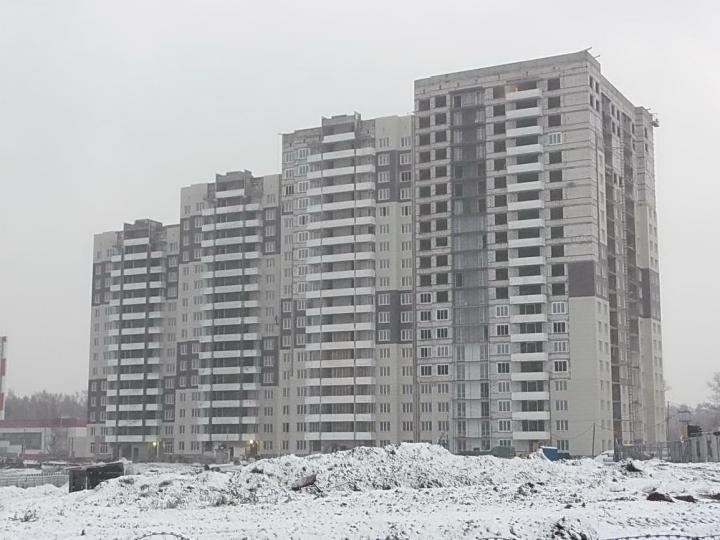 Строительство ЖК Одинцовский