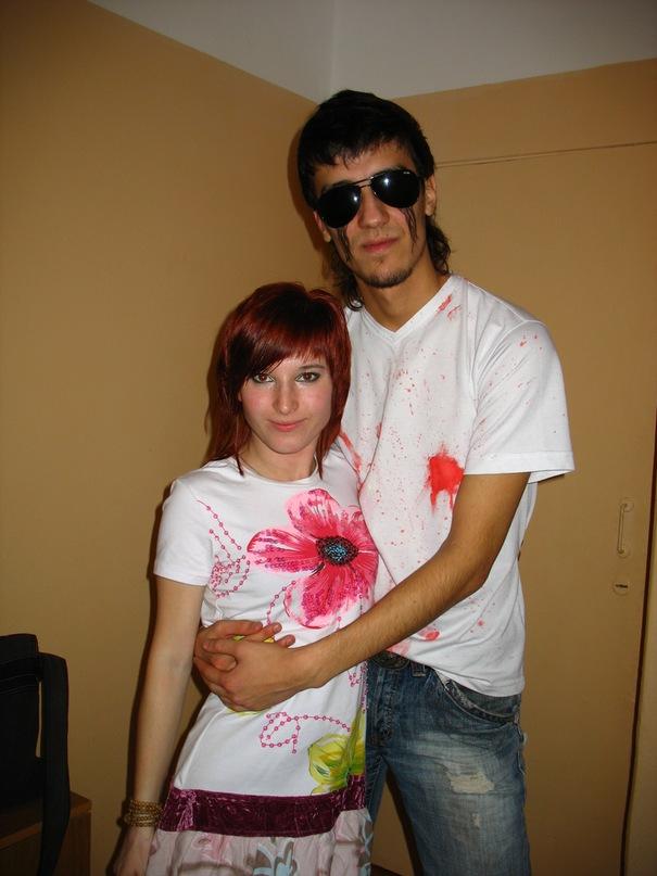 Мы с Антоном празднуем Хэллоуин в Саранске