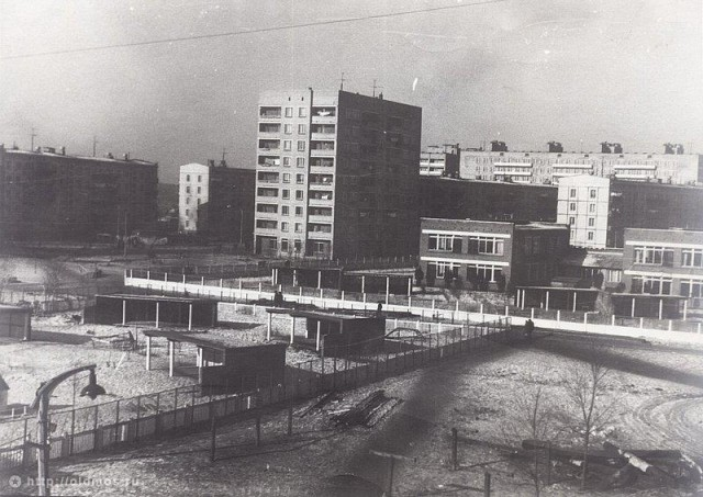 1-й микрорайон 1972 год