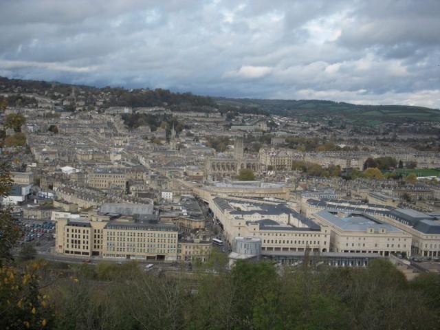Вид на город Бат