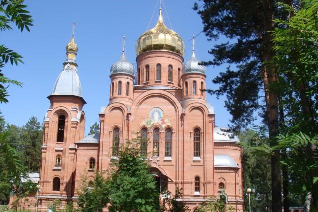 Железногорск. Церковь. 2009 год.