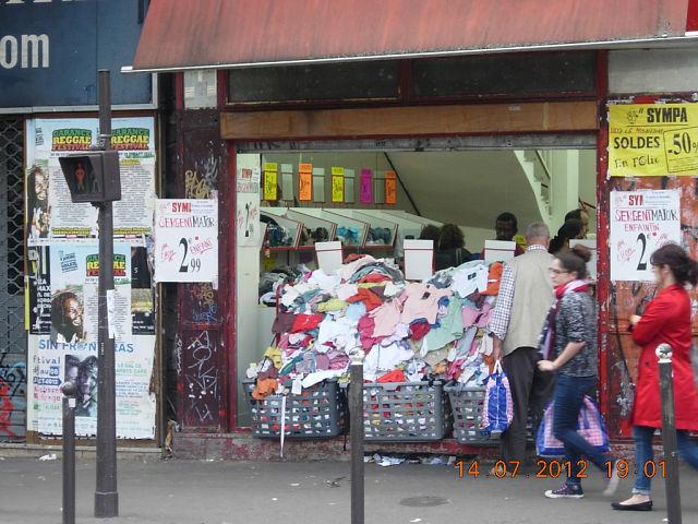 Вот она – настоящая Парижская распродажа.