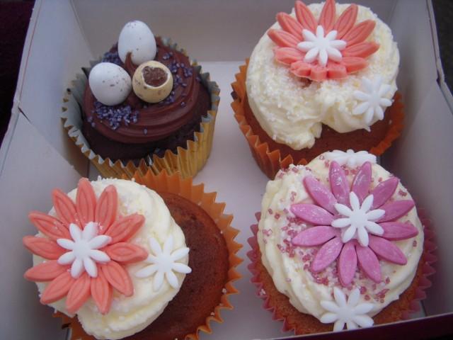 Популярные в Англии пирожные cupcakes