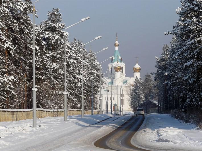 Вид на Свято-Троицкий собор