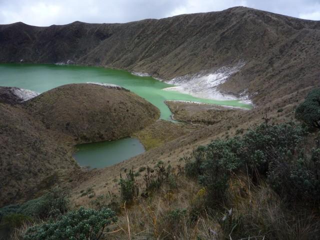 laguna verde azufral