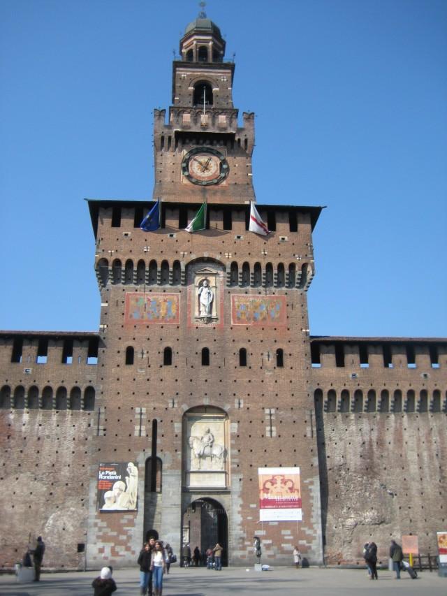 Каироли-крепость Милана