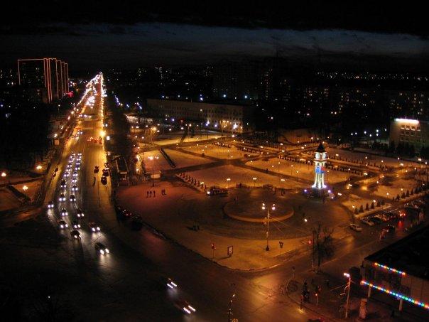 Ночной Подольск