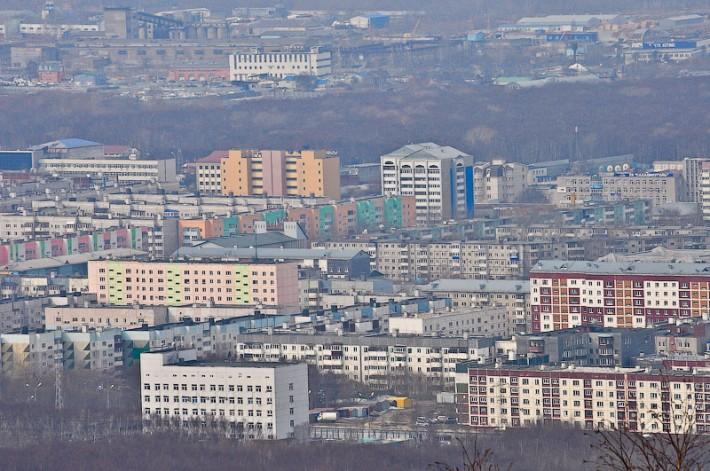 Обзорный вид города