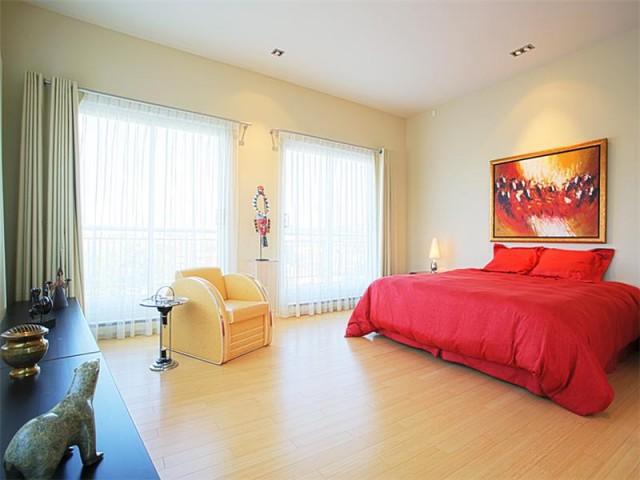 Вот так может выглядеть спальня в кондоминимуме