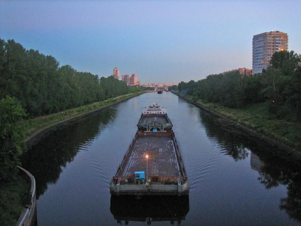 Канал им. Москвы в Покровском-Стрешнево