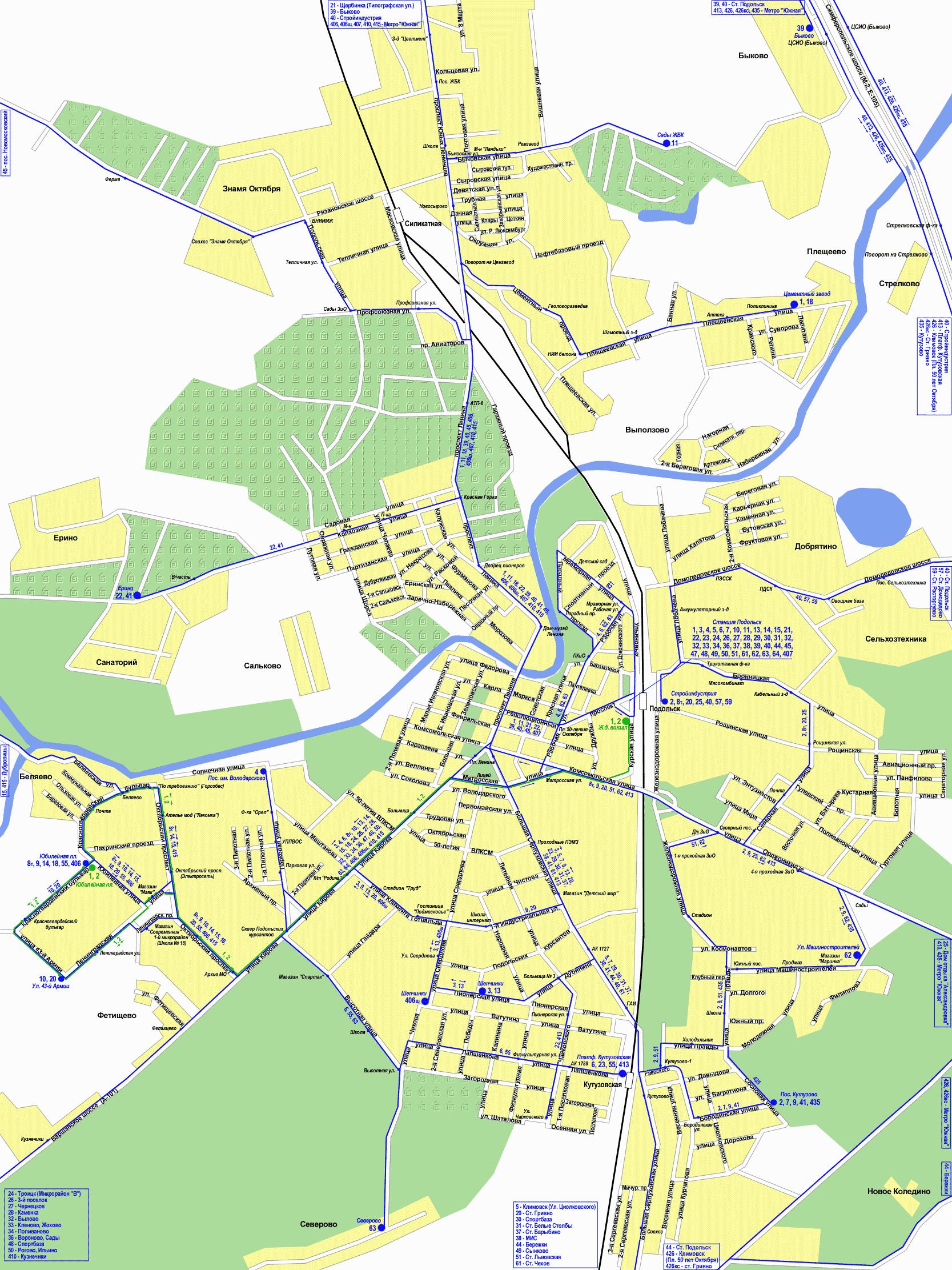 Карта схема московской области и их соседи