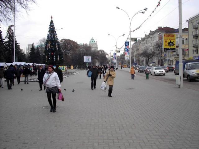 Снега в Ростове мной замечено не было