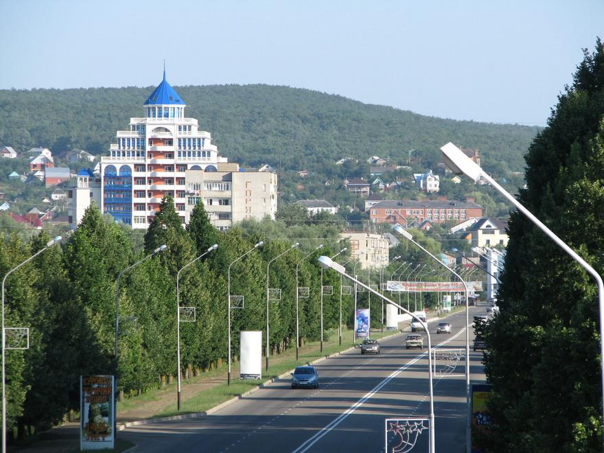 фото города горячий ключ