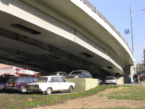Стихийные парковки