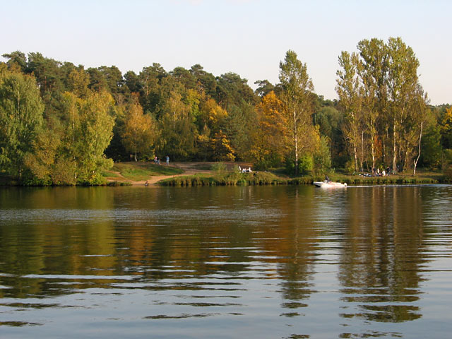 Серебряный бор, озеро Бездонное