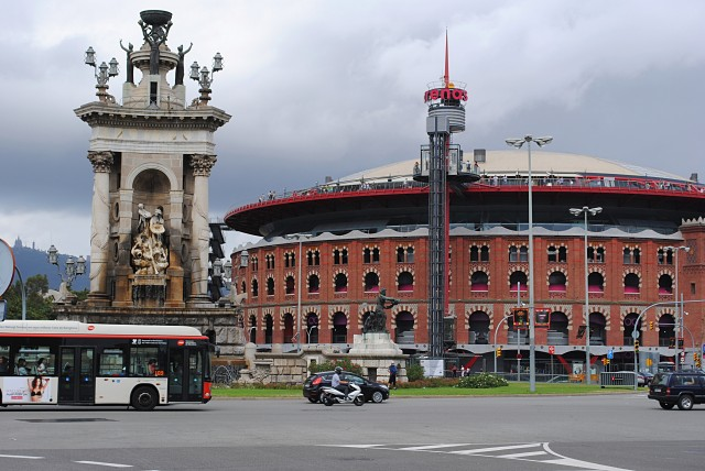 Та самая огромная арена для корриды на площади Испании
