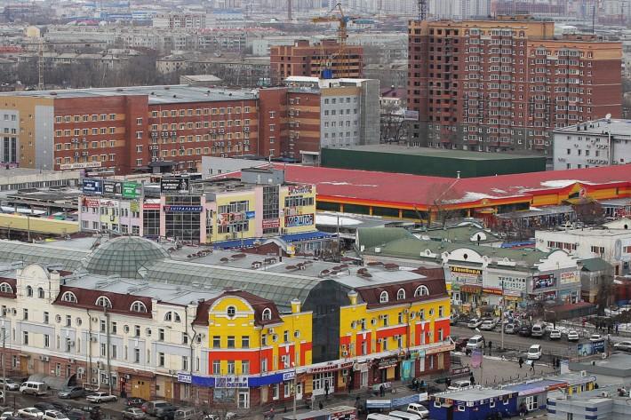 Район центрального рынка
