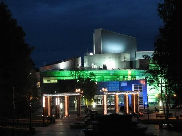 Концертно-театральный центр «Югра-Классик» включает большую театральную сцену и органный зал