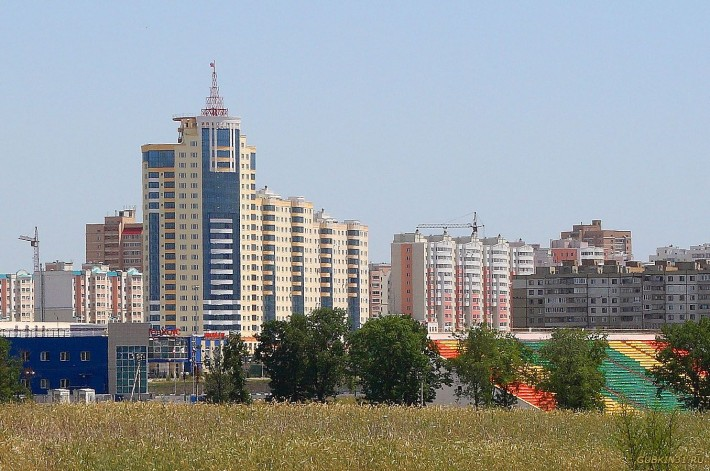 В Старом Осколе много современных жилых комплексов
