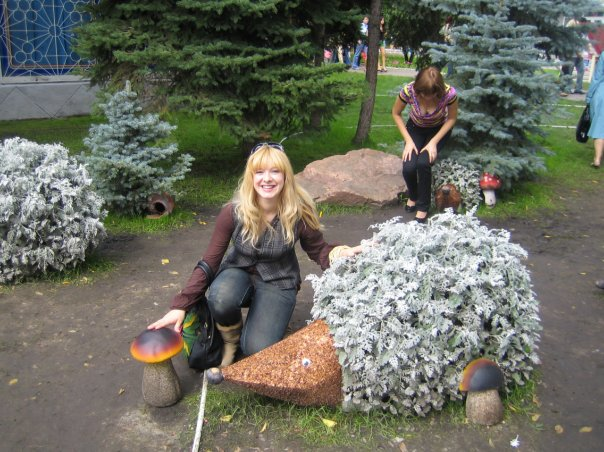 В парках Минска есть ежики