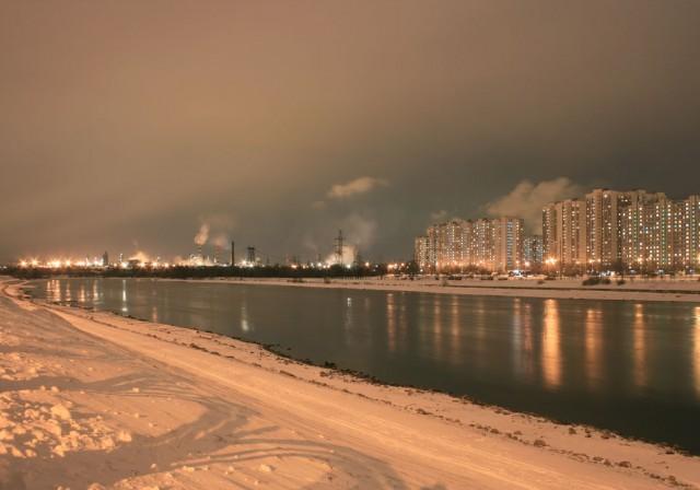 НПЗ в Капотне как главная «достопримечательность» ЮВАО