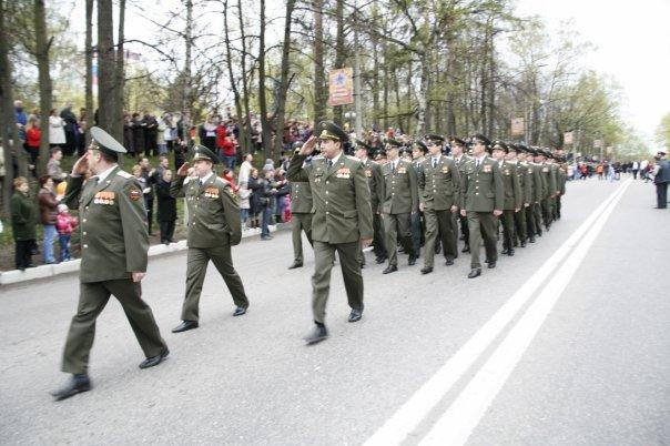 Парад 9го мая в Красногорке