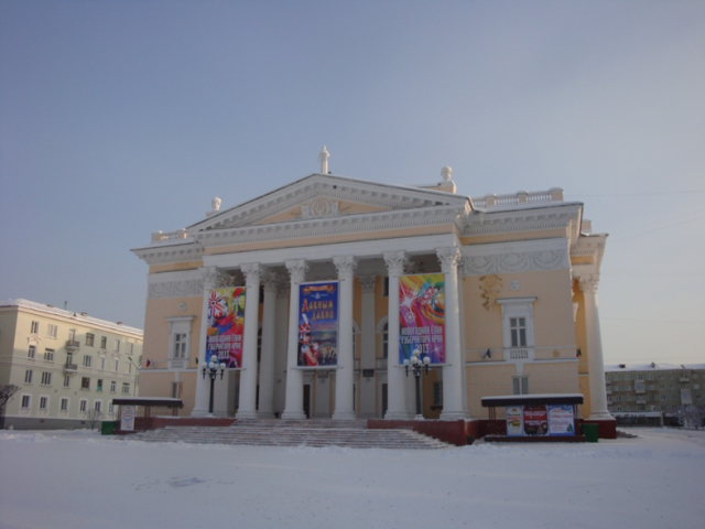 Театр на площади Ленина