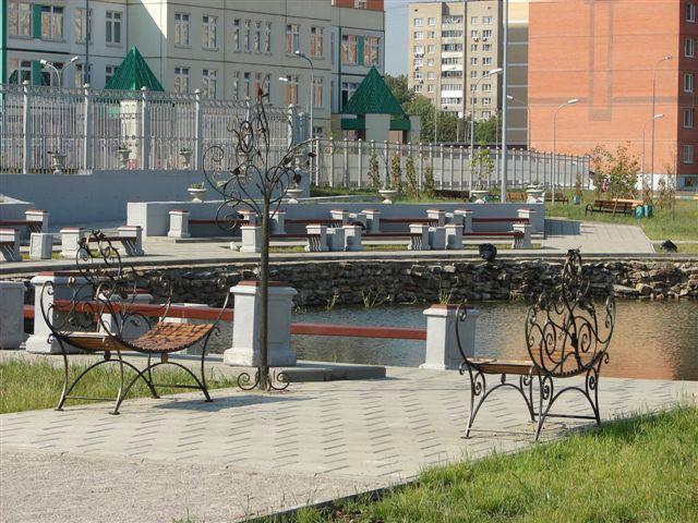 Уютные места для отдыха в Некрасовке