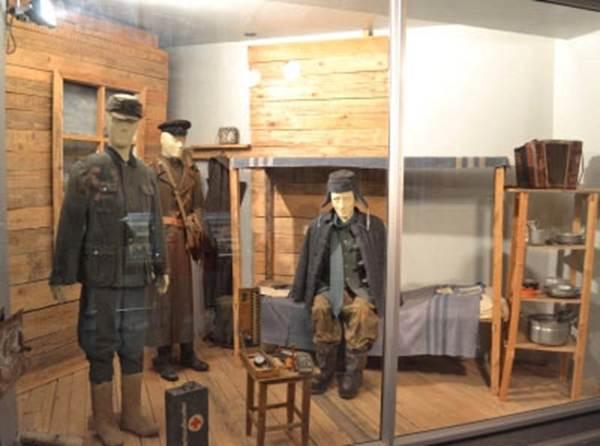 Часть экспозиции музея