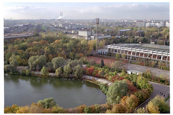 Панорама района Текстильщики