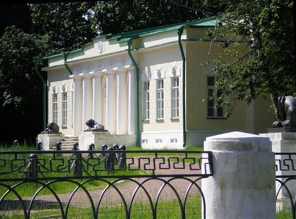 Усадьба князей Голицыных в Кузьминках