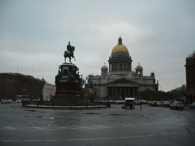 Санкт-Петербург, где у меня часто бывает пасмурное настроение